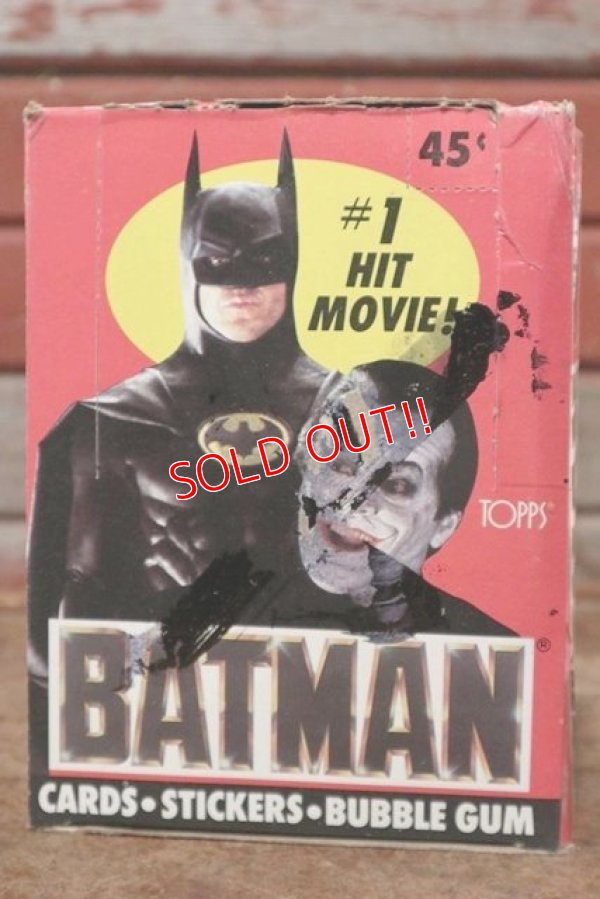 画像1: ct-200901-29 BATMAN / Topps 1989 Trading Card Box
