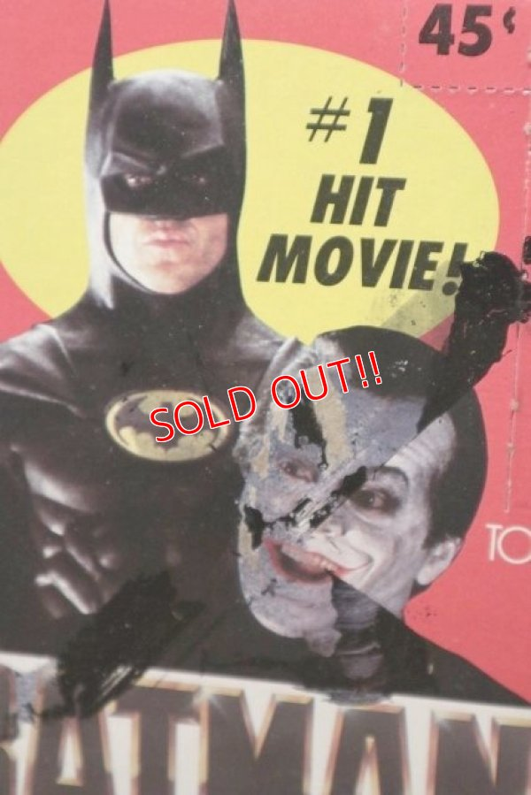画像2: ct-200901-29 BATMAN / Topps 1989 Trading Card Box