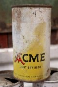 nt-200901-01 ACME LIGHT DRY BEER / Vintage 12 FL.OZ Can