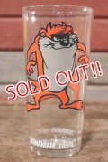 gs-200901-15 Tasmanian Devil / PEPSI 1973 Collector Series Glass