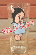 gs-200901-15 Petunia Pig / PEPSI 1973 Collector Series Glass