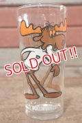 gs-200901-22 Bullwinkle / 1970's Collectors Series 16 oz.Glass
