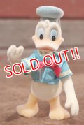 ct-200901-62 Donald Duck / Applause 1980's Flocked Figure