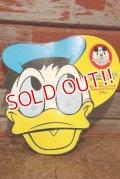 dp-200901-63 Donald Duck / 1960's Paper Sunglasses