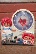 ct-201001-23 Raggedy Ann & Andy / 1974 Alarm Clock