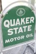 画像3: dp-200901-55 QUAKER STATE / 1970's Stand Sign