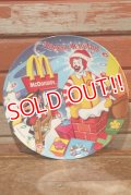"ct-201001-09 McDonald's / 2005 Collectors Plate ""Happy Holidays"""