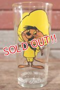 gs-201001-02 Speedy Gonzales / PEPSI 1973 Collector Series Glass
