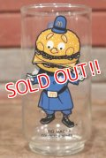 "gs-170601-06 McDonald's / 1970's Collector Series ""Big Mac Police"" Glass"
