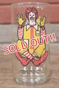 "gs-200501-14 McDonald's / 1970's Collector Series ""Ronald McDonald"" Glass"