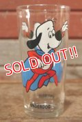 gs-201001-08 【JUNK】Under Dog / PEPSI 1970's Collector Series Glass