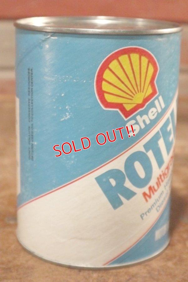 画像2: dp-201001-31 Shell ROTELLA T / One Quart Motor Oil Can