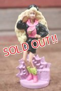"ct-208001-10 Barbie / McDonald's 1992 Meal Toy ""Rappin' Rockin' Barbie"""