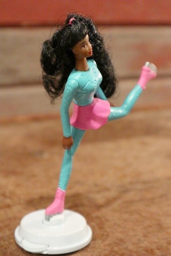 """画像3: ct-208001-10 Barbie / McDonald's 1994 Meal Toy """"Ice Skatin' BARBIE"""""""