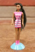 "ct-208001-10 Barbie / McDonald's 1998 Meal Toy ""Bead Blast CHRISTIE"""