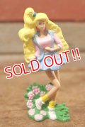 """ct-208001-10 Barbie / McDonald's 1991 Meal Toy """"All American Barbie"""""""
