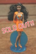 "ct-208001-10 Barbie / McDonald's 1992 Meal Toy ""Jewel Glitter SHANI"""