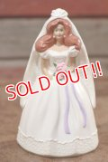 "ct-208001-10 Barbie / McDonald's 1990 Meal Toy ""Wedding Day Midge"""
