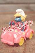 ct-201101-10 Super Smurf / Smurfette Pink Car #40241
