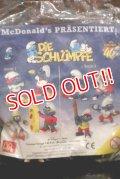 ct-201101-11 Smurfs / McDonald's 1998 PVC Figure Complete Set