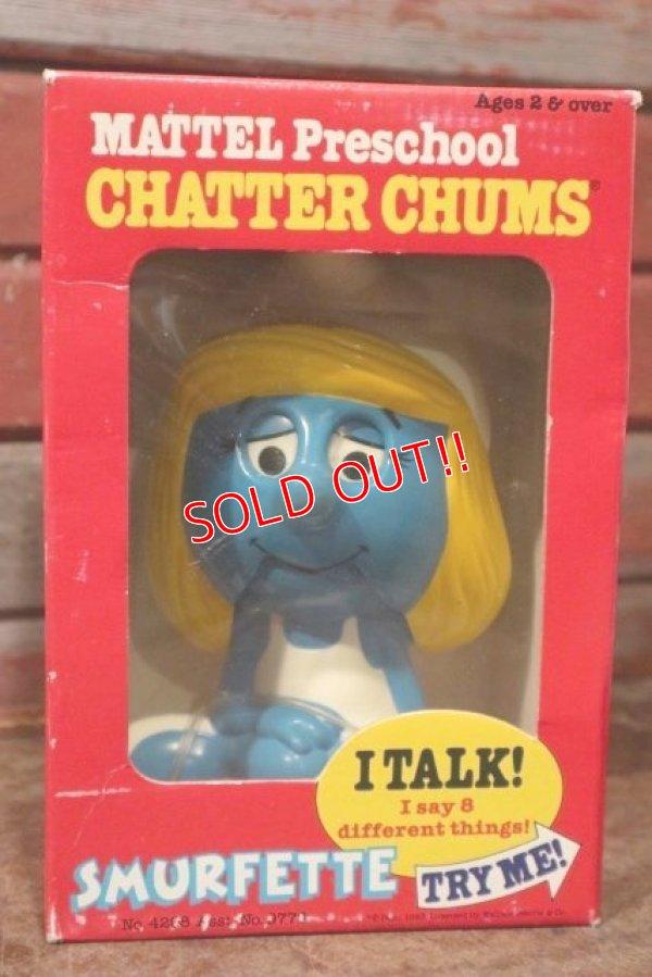 画像1: ct-201001-41 Smurfette / Mattel 1983 Chatter Chums (Box)