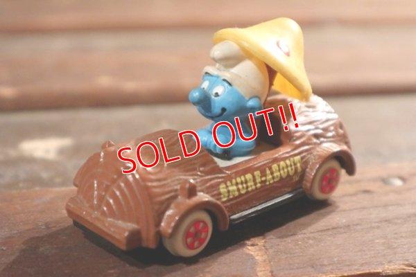 画像1: ct-201101-08 Smurfs / ERTL 1980's Die Cast Car