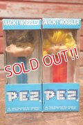 ct-201101-18 Funko Wacky Wobbler / 1990's PEZ BOY & PEZ GIRL