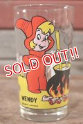 gs-201101-01 Casper / Wendy PEPSI 1970's Collector Series 8oz.Glass