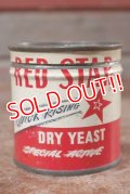 dp-201101-49 RED STAR DRY YEAST / Vintage Tin Can