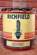 dp-201101-45 RICHFIELD / 1957 5 U.S.GALLONS Oil Can