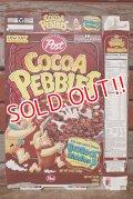 ct-201114-93 The Flintstones / Post 1996 Cocoa Pebbles Cereal Box