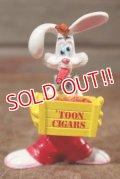 "ct-201114-63 Roger Rabbit / 1988 PVC Figure ""Toon Cigars"""
