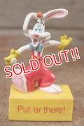 "ct-201114-63 Roger Rabbit / 1988 PVC Figure ""Put 'er There!"""