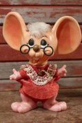 """ct-200701-35 ROYALTY Industries / 1970's Roy Des of Florida Mouse Bank """"Glasses"""""""