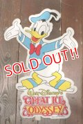 ct-201114-24 Donald Duck / 1970's Great Ice Odyssey Banner