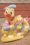 ct-201201-11 Donald Duck & Pluto / Unknown Rubber Doll