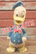 ct-201201-08 Donald Duck / Sun Rubber 1950's Doll