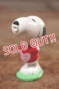 """ct-201114-86 Snoopy / Whitman's 1999 PVC Figure """"Kiss Me"""""""