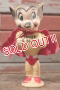ct-201201-01 Mighty Mouse / 1950's-1960's Rubber Doll