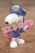 """ct-201114-86 Snoopy / Whitman's 1998 PVC Figure """"Postman"""""""