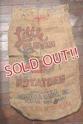 dp-201114-29 Little PLOVER / Vintage Potatoes Bag