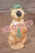 ct-201201-29 Yogi Bear / 1960's Rubber Doll
