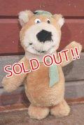 ct-201114-99 Yogi Bear / 1980's Plush Doll