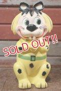 ct-201201-07 The Flintstones / Knickerbocker 1960's Baby Puss Rubber Doll