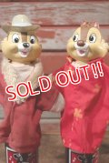 ct-201114-39 Chip n' Dale / 1990's Hand Puppet