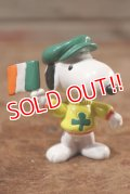 "ct-201114-86 Snoopy / Applause 1990's PVC Figure ""St. Patrick's Day"""