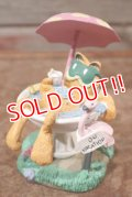 "ct-201114-91 Garfield / Danbury Mint 1980's Figurine ""On Vacation"""