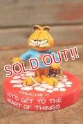"ct-201114-90 Garfield / 1980's Figurine ""Fencing"""