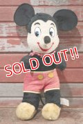 ct-201114-87 Mickey Mouse / Gund 1960's Plush Doll