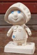 ct-201114-35 Pillsbury / Poppie Fresh 1970's Soft Vinyl Doll w/Stand